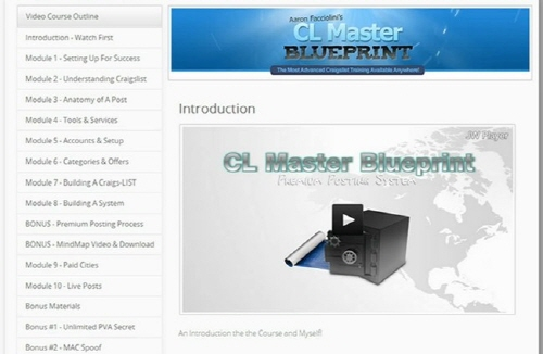 Craigslist Master Blueprint Download