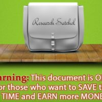 Research Satchel Full Bundle 3 in 1 Review