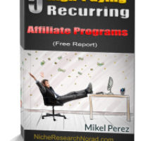 free WSO free 5 high paying recurring affiliate programs review