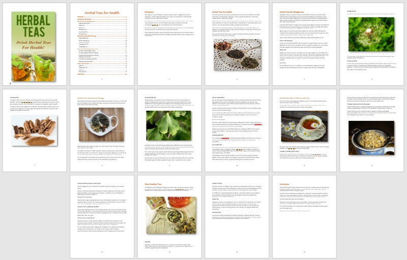 OTO Module 4 Report Herbal Teas for Health