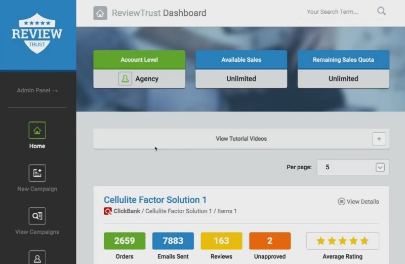 Review Trust Demo