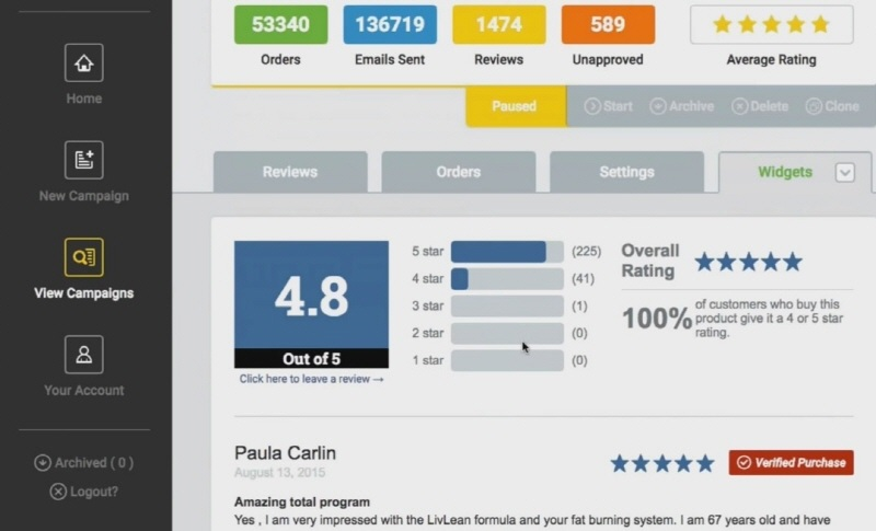 Review Trust Software