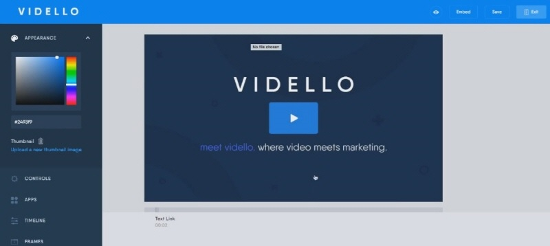 Vidello Demo