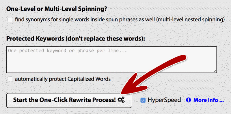 Step 2 Best Text Rewriting Software