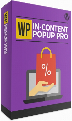 1 WP In-Content Popup Pro License